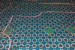Batik SMA Dwi Warna sebelum dipotong