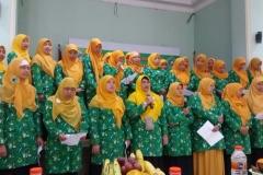 Batik IGRA Jagakarsa warna latar Hijau