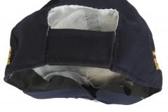 Topi SMP warna hitam belakang