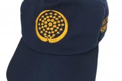 Topi SMP warna biru depan