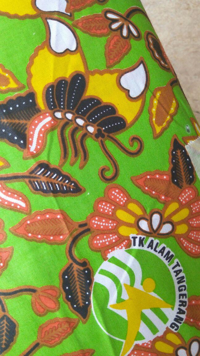 Batik TK dan SD Sekolah Alam Tangerang