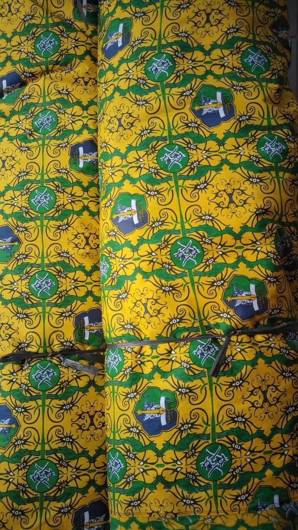 Batik SMPN 2 Samboja Kalimantan Timur